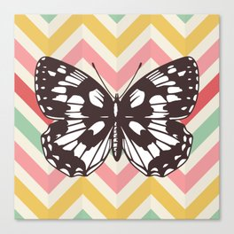 Colorful Butterfly Print - Buttefly Home Decor Canvas Print
