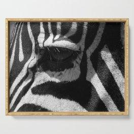 Zebra Eye Serving Tray