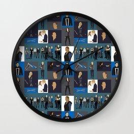 Agents of SHIELD - Minmalist Wall Clock