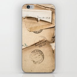 Soldier's Mail iPhone Skin