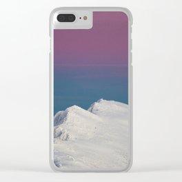 mountain peak #society6 #decor #buyart Clear iPhone Case