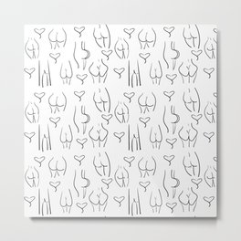 They're all good butts, Karl Metal Print