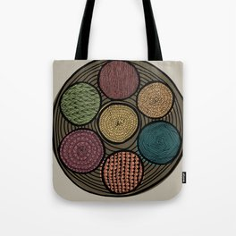 Spice Tin Tote Bag