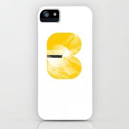 Tide Breaker - Yellow Bask iPhone Case