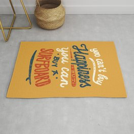 You Can't Buy Happiness Rug