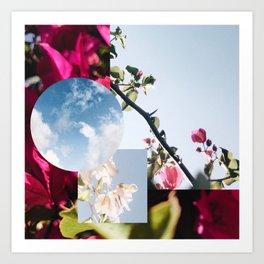 Pink Pleasantries Art Print