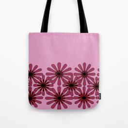 Pink Flower Pattern 1 Tote Bag
