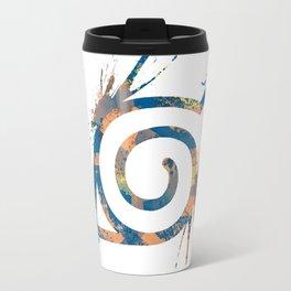 Naruto - Konoha Logo Travel Mug