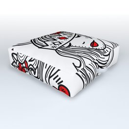 Crown of Pain - An Introduction - Zine Outdoor Floor Cushion