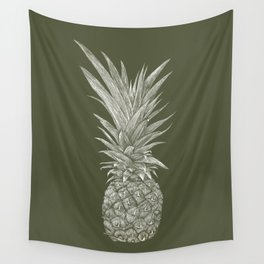 Pineapple : L'Olive Wall Tapestry