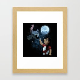 How to train your alien Framed Art Print