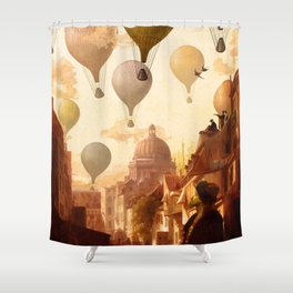 Voyage to the Unkown Shower Curtain