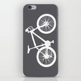 Mountain Bike Charcoal iPhone Skin