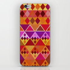 Fire Diamond Pattern iPhone & iPod Skin