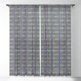 Geometric Sheer Curtain
