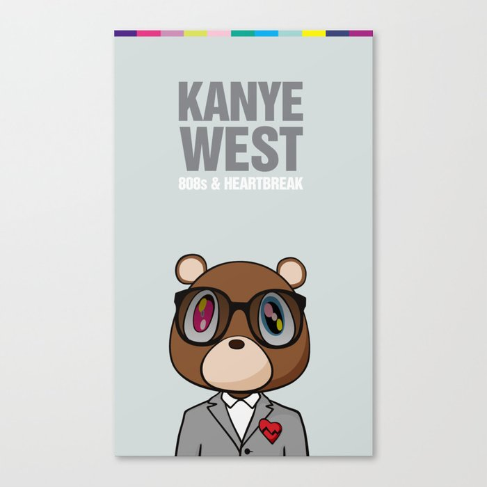 808s Heartbreak Canvas Print