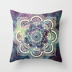Galaxy Mandala : Deep Pastels Throw Pillow