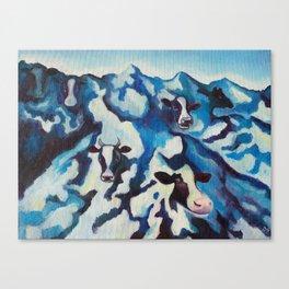 Cowntains Canvas Print