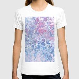 Suminagashi Japanese Paper Marbling Art T-shirt