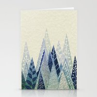 jon snow Stationery Cards featuring Snow Top by rskinner1122