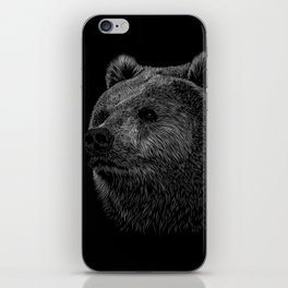 Bear Grizzly iPhone Skin
