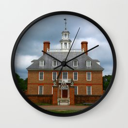 Governers Palace Colonial Williamsburg Wall Clock