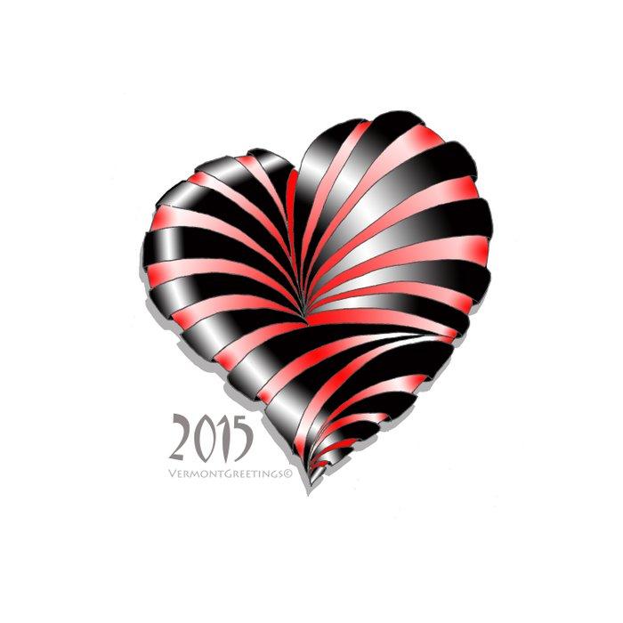Forever love Valentine Illustration Duvet Cover