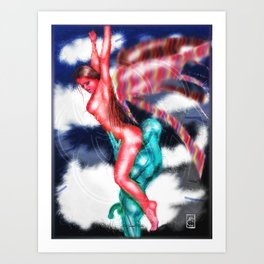 Angel Sex Magic Art Print