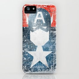 Yankee Captain grunge superhero iPhone Case