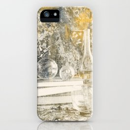 Still Life with Glass iPhone Case