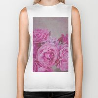 rose Biker Tanks featuring Rose by Pure Nature Photos