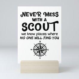 Scout Gift Mini Art Print