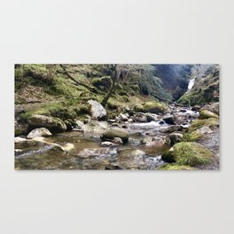 Stoney lake Canvas Print