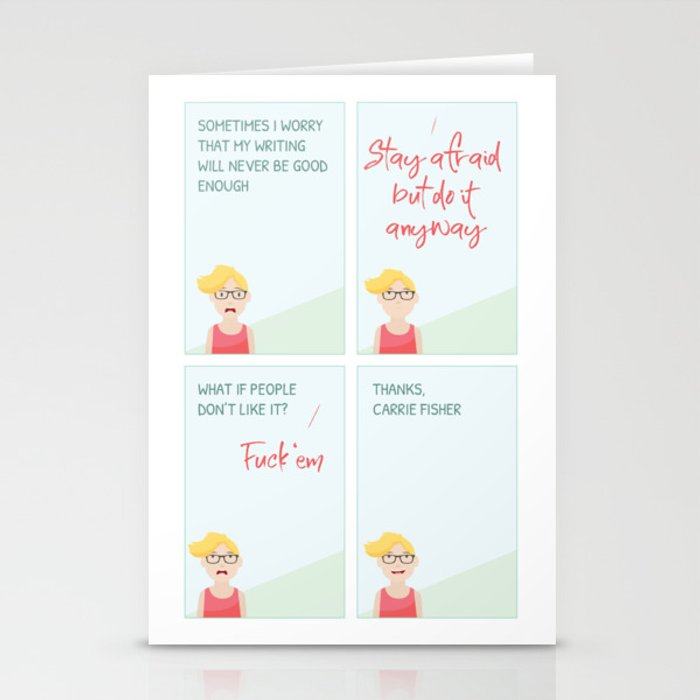 Thanks, Carrie Stationery Cards