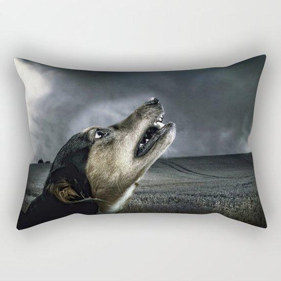 Dog moonlight 1 Rectangular Pillow