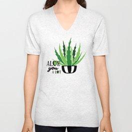 Aloe You A Lot Unisex V-Neck