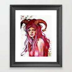 The Aries Framed Art Print