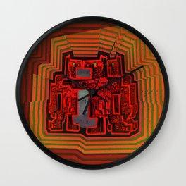 Three's a Crowd / Robotics Wall Clock