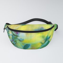 Garden of vibrant colors wildflowers II Fanny Pack