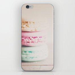 the sweet sweet macaron ... iPhone Skin