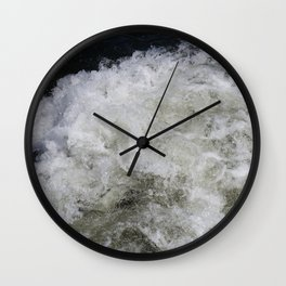 Rushing Water Wall Clock