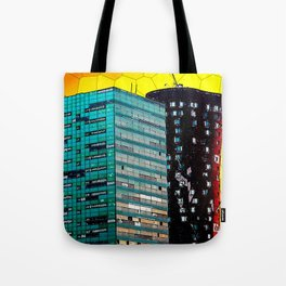 Gran Via Sunset Tote Bag