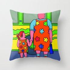 Miss Bridget Throw Pillow