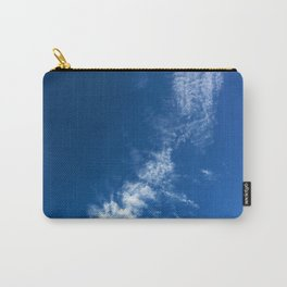 Clouds on Deep Blue Carry-All Pouch