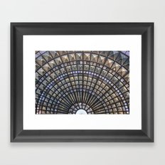 Union Station Window Framed Art Print