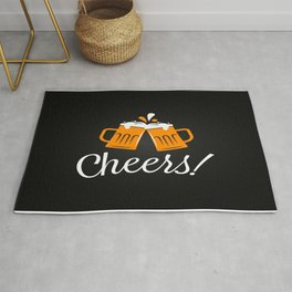 Cheers With Beers Rug