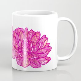 Magenta Flower Coffee Mug