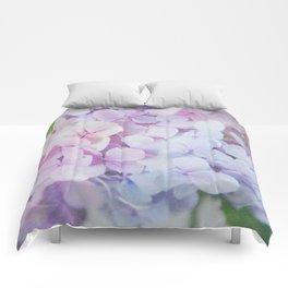 Bloomin' Fabulous Hydrangeas Comforters