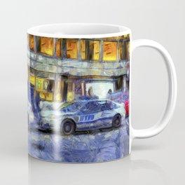 New York police Department Van Gogh Coffee Mug