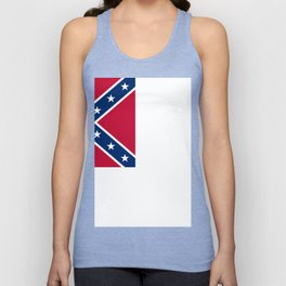 Bloodstained Banner Of The Confederacy Unisex Tanktop